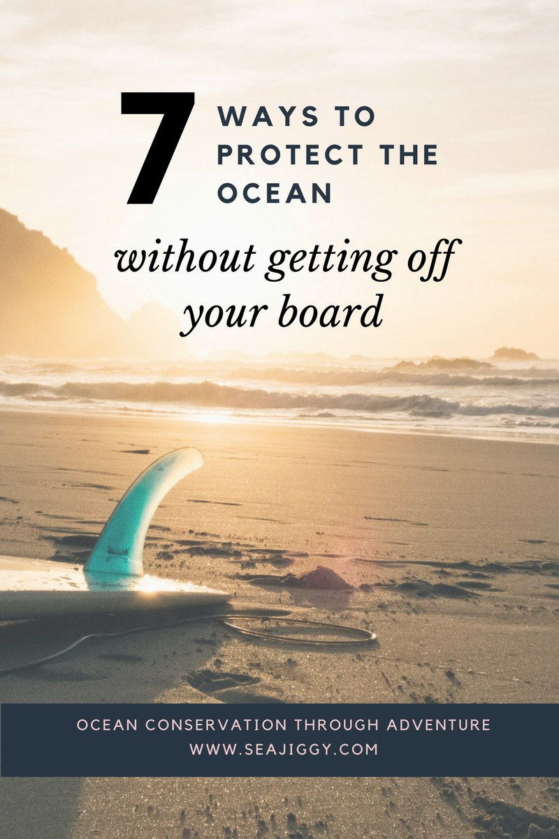 Are you a surfer, paddler or kayaker who wants to protect the ocean, but not sure how? There are simple things you can do WHILE you play in the ocean including choosing a better wetsuit, swimsuit, collect ocean data or join a charity paddle. Check out this post to learn 7 easy ways to be more ocean-friendly while you are on your board.