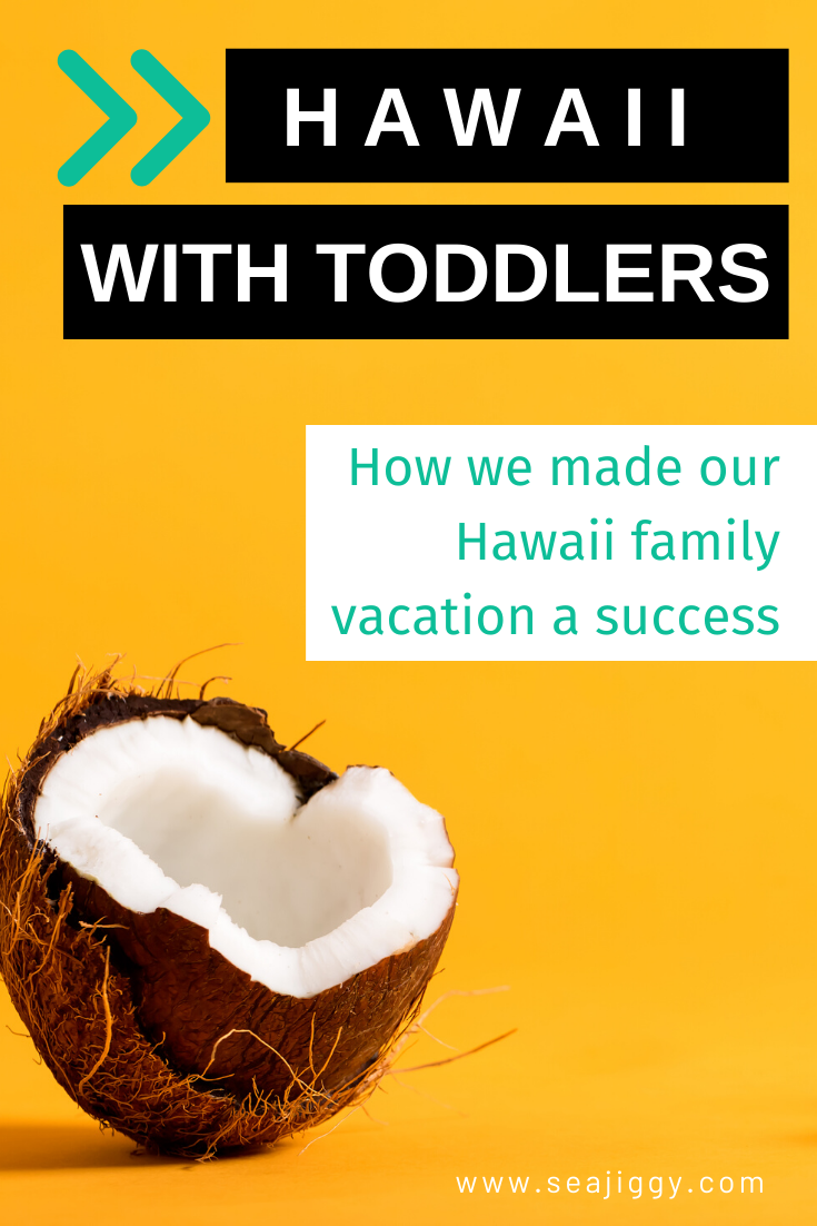 Hawaii with toddlers: How we made our Hawaii family vacation a success